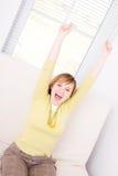 I'm so happy! Royalty Free Stock Photography