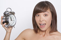 I'm Late! Royalty Free Stock Photography
