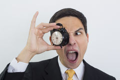 I'm late for work!! Stock Photos