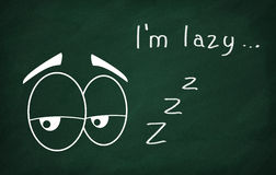 I'm lazy Stock Photo