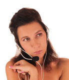 I'm really listening Royalty Free Stock Images