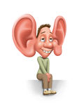 I'm listening to you Stock Photography