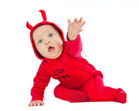 I'm a little devil! Royalty Free Stock Image