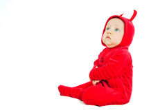 I'm a little devil! Stock Image