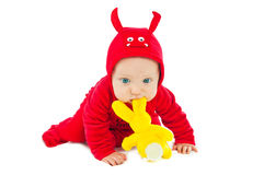 I'm a little devil! Royalty Free Stock Photo