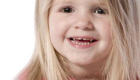 I'm a little smiling tot Stock Image