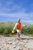 I'm off to build sandcastles! Stock Photography