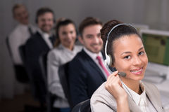 I'm part of a team! Royalty Free Stock Image