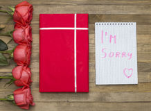I`m sorry concept Royalty Free Stock Images