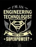 I ` m un tecnólogo de la ingeniería libre illustration