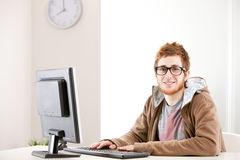 I'm young and I'm underpaid, isn't it ironic? Royalty Free Stock Photo
