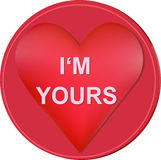 I'm yours heart Stock Photos