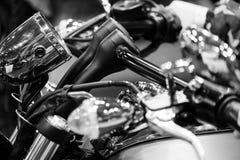 I macro dettagli del motociclo si chiudono su Immagini Stock