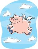 I maiali volano illustrazione di stock