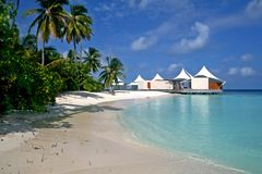 I Maldives Immagine Stock