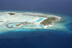 I Maldives Fotografia Stock