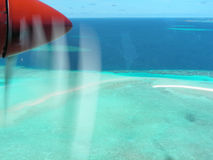 I Maldives Fotografia Stock