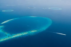 I Maldives Fotografie Stock Libere da Diritti