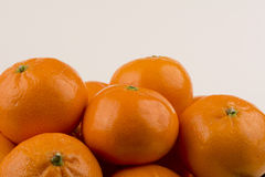 I mandarini si chiudono su Fotografie Stock