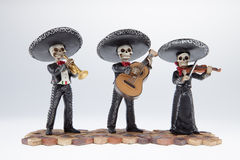 I mariachi legano Fotografia Stock Libera da Diritti