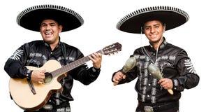 I mariachi messicani dei musicisti legano Fotografia Stock