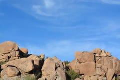 I massi nell'insenatura della caverna, la contea di Maricopa, Arizona, U.S.A. immagine stock