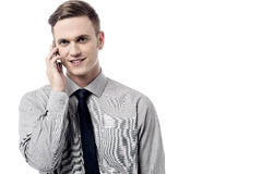 I am in a meeting will call you back ! Stock Photography