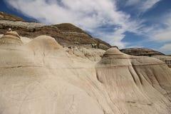 I menagrami di fama mondiale in Drumheller, Alberta fotografia stock libera da diritti