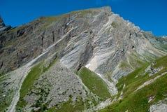 i 3798 metri del Grossglockner NELLE ALPI austriache un il bello giorno di cielo blu in primavera Immagine Stock Libera da Diritti