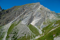 i 3798 metri del Grossglockner NELLE ALPI austriache un il bello giorno di cielo blu in primavera Fotografie Stock