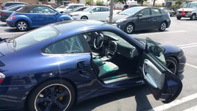 I miei amici Porsche Immagini Stock Libere da Diritti