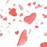 I miei coriandoli del biglietto di S. Valentino Immagini Stock Libere da Diritti