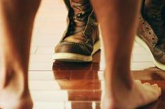 I miei stivali Fotografia Stock