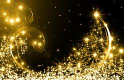I migliori precedenti dell'albero di Natale Fotografia Stock Libera da Diritti