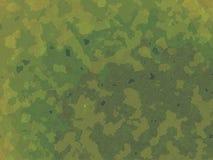 I militari britannici di stile della giungla verde DPM cammuffano Fotografie Stock