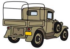 I militari dell'annata trasportano Fotografie Stock Libere da Diritti
