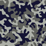 I militari di Camo nel gray blu colorano illustrazione di stock
