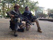 I militari di PMC scale12 modellano Immagini Stock Libere da Diritti