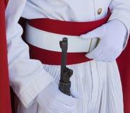 I militari marocchini custodicono Immagini Stock