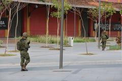 I militari non rinforzeranno la sicurezza di Rio de Janeiro Carnival Fotografia Stock