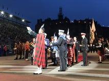 I militari reali di Edimburgo tatuano Fotografia Stock