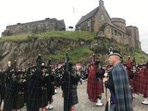 I militari reali di Edimburgo tatuano Fotografia Stock Libera da Diritti