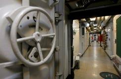 I militari spedicono l'interiore Fotografie Stock