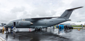 I militari trasportano gli aerei Antonov An-178 Fotografia Stock