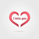 I miss you Royalty Free Stock Photo