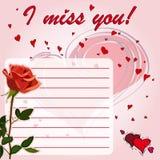 I miss you Stock Photos