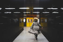 I missed the train! Stock Photography