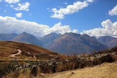 I mitt av Peru Arkivbilder