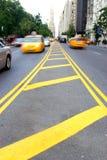I mitten av den 59th gatan NYC Royaltyfri Fotografi