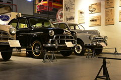 I modelli dell'automobile di Hindustan modellano nel museo del trasporto di eredità in Gurgaon, Haryana India Fotografia Stock Libera da Diritti